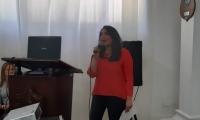 La secretaria de Cultura Distrital, Cindy Zawady.