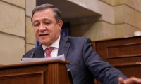 Ernesto Macías, expresidente del Senado.