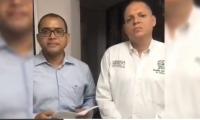 El mandatario cienaguero era defendido por el abogado Álex Fernández Harding.