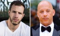 Joe Watts, doble que está en coma, y Vin Diesel, protagonista de 'Rápidos y Furiosos'.