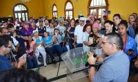 Rafael Martínez reasumió este martes el cargo de alcalde de Santa Marta.