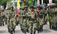 Desfile militar en Santa Marta