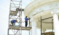 La obra presenta un avance del 61 por ciento de su construcción.