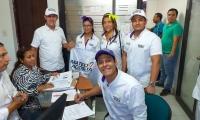 Mateo Acosta, aspirante al Consejo de Santa Marta