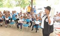 Red de Bibliotecas del Magdalena realizó jornada de lectura y entrega de colección bibliográfica y cuentos.