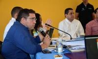 El alcalde de Santa Marta, Rafael Martínez, preside segundo consejo de gobierno.