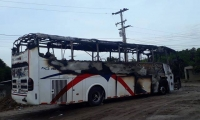 El vehículo cubría la ruta Medellín- Maicao.