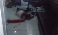 David Bonilla Carrillo resultó herido tras ser impactado.