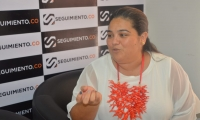 Priscila Zúñiga, coordinadora programática de la campaña del 'Mello' Cotes.