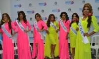 Candidatas al Reinado Nacional Trans del Mar 2019