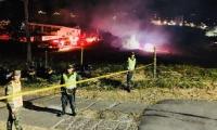 Incendio en Armenia