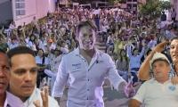 Los candidatos a la Alcaldía han pedido apoyo a Rubén Jiménez. Él les hace una propuesta.