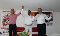 Jaime Cárdenas recibió el apoyo irrestricto de las directivas de Colombia Justa Libres.