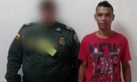 Emel Esnaider Carvajal Linero, capturado por lesiones personales.