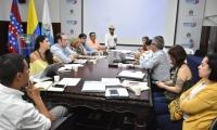 La metodología de ejecución de proyectos y las convocatorias públicas dirigidas a entidades e investigadores reconocidos por Colciencias, fueron el foco a socializar.