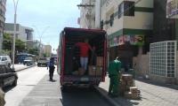 Controles a vehículos de carga pesada.