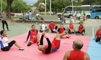En el Parque de Los Trupillos se realizaron actividades para población en discapacidad.