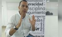 Edward Torres, candidato a la Gobernación del Magdalena.