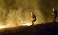 Incendio forestal en Huila.