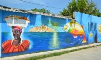 Mural en Pescaíto