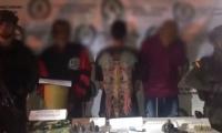 Capturados por masacre en Antioquia.