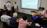 Primer Encuentro de Víctimas LGBTI.