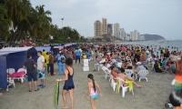 El Rodadero es uno de los sitios más visitados de Santa Marta