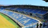 El estadio samario presenta un 97 de avance en su obra y en ese tres por ciento faltante está la instalación de 56 lámparas importadas.