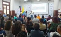 El evento se desarrolló en el Salón Bolívar de la Gobernación del Magdalena, sin costo para los asistentes.