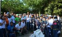 Limpieza en Río Manzanares