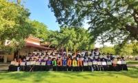 El acto de graduación se llevó a cabo en el Auditorio Julio Otero Muñoz del Campus principal de la Alma Mater.