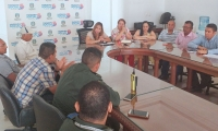 El Comité de Orden Público y Electrificación se llevó a cabo en la Gobernación del Magdalena.