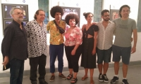 Asistentes internacional a este evento cultural de Santa Marta.