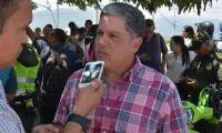 Director de la Oficina de Tránsito y Transporte Departamental, Rafael Castañeda.