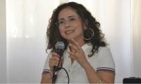 La exsecretaria de Hacienda, Diana Villalba.