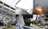 Afectaciones en Japón por paso del tifón Faxai.