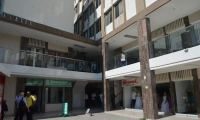Panorama del edificio Galaxia en el centro de Santa Marta.