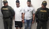 La captura se produjo luego que los involucrados fueran denunciados por la comunidad.