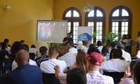 El alcalde Rafael Martínez socializó las obras menores para la zona rural el pasado fin de semana.