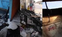 Estado en que quedaron las casas afectadas.