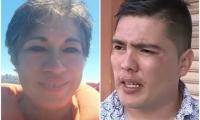 Ilse Ojeda, chilena asesinada y Juan Valderrama, presunto asesino.