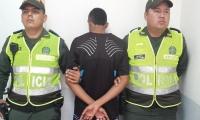 El adolescente fue aprehendido en el barrio Rebolo.
