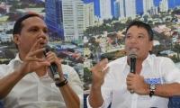 Aristides Herrera y Juan Carlos Palacio.