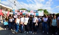 La comunidad académica alzó su voz en manifestación por la crisis climática que afecta a la tierra.