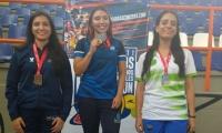 Cuatro medallas han conseguido en lo que va de las competencias.