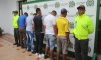 Capturados vigilantes Bucaramanga