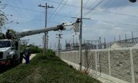 El proyecto que hace parte de las obras de optimización de redes contempla la instalación de 5.300 metros de líneas.