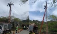 Inicio de trabajos en El Rodadero.