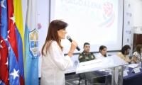 Durante la jornada, la gobernadora Rosa Cotes, quien presidió la sesión, mostró avances y logros de su gobierno.