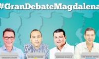 El Gran Debate Magdalena será el 15 de octubre.